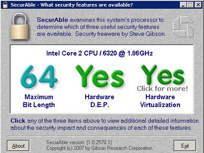 Hardware Virtualization: YES