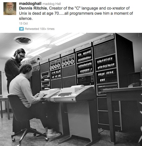 Dennis Ritchie, Ken Thompson