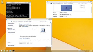 [3200x1800px, 200% ] Der Desktop skaliert ordentlich, Applikationen müssen jedoch oftmals gesondert konfiguriert werden.
